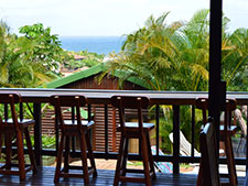 Our view from Zuider Zee Guest House B&B – Salt Rock Self Catering Accommodation / Ballito Holiday Self Catering Accommodation